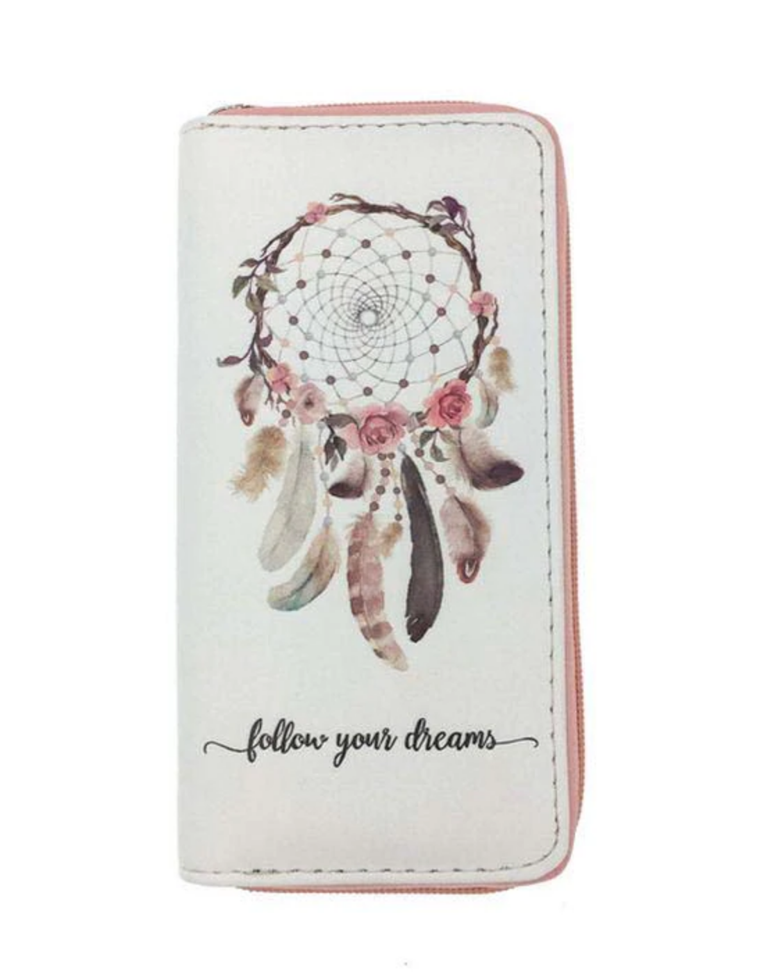 Porte cartes attrape rêves boho boheme chic wallet0202