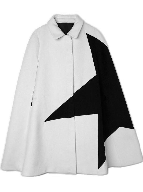 Cape manteau zip étoile boho boheme chic coat0214
