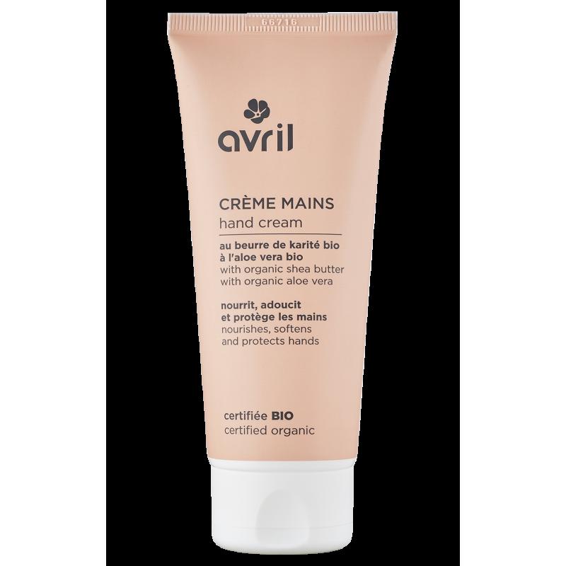 Crème pour les mains 100 ml cerfitiée bio AVRIL008