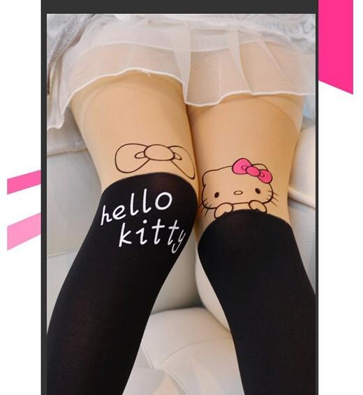 Collant petite fille opaque kitty boho boheme chic ling0029