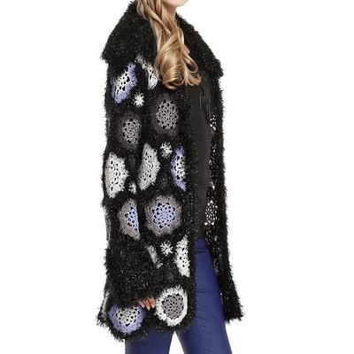 Gilet crochet tricoté boho boheme chic  GIL0182