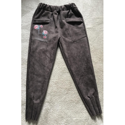 Exclusivité pantalon poche brodée boho bohème chic PANTSS0226