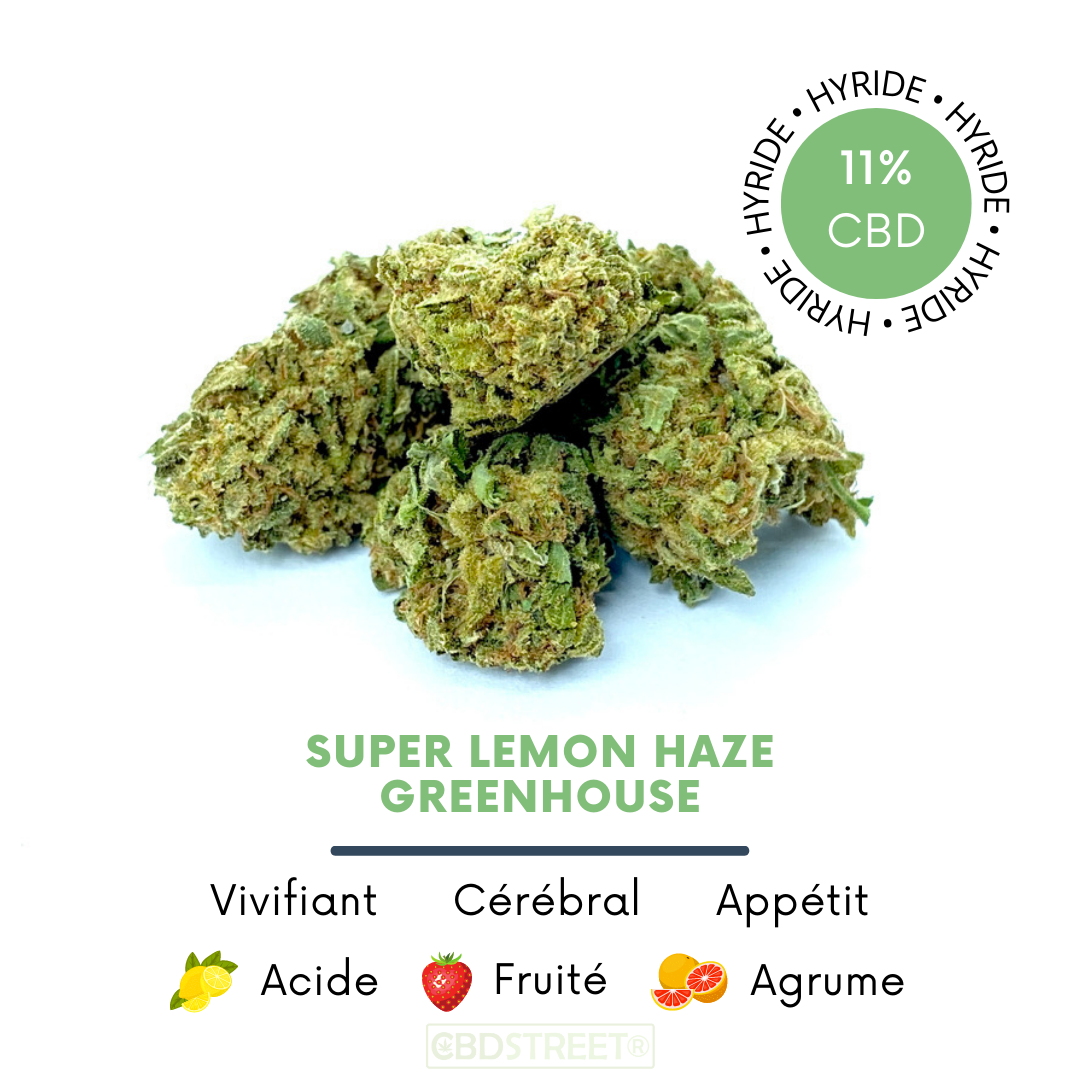 Fleur CBD Super lemon haze greenhouse