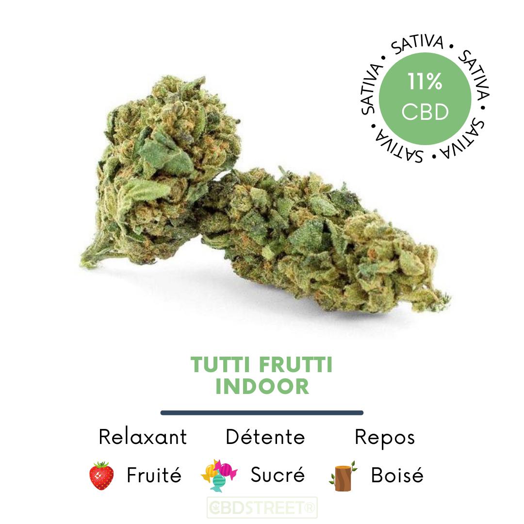 Tutti Frutti CBD indoor 11%