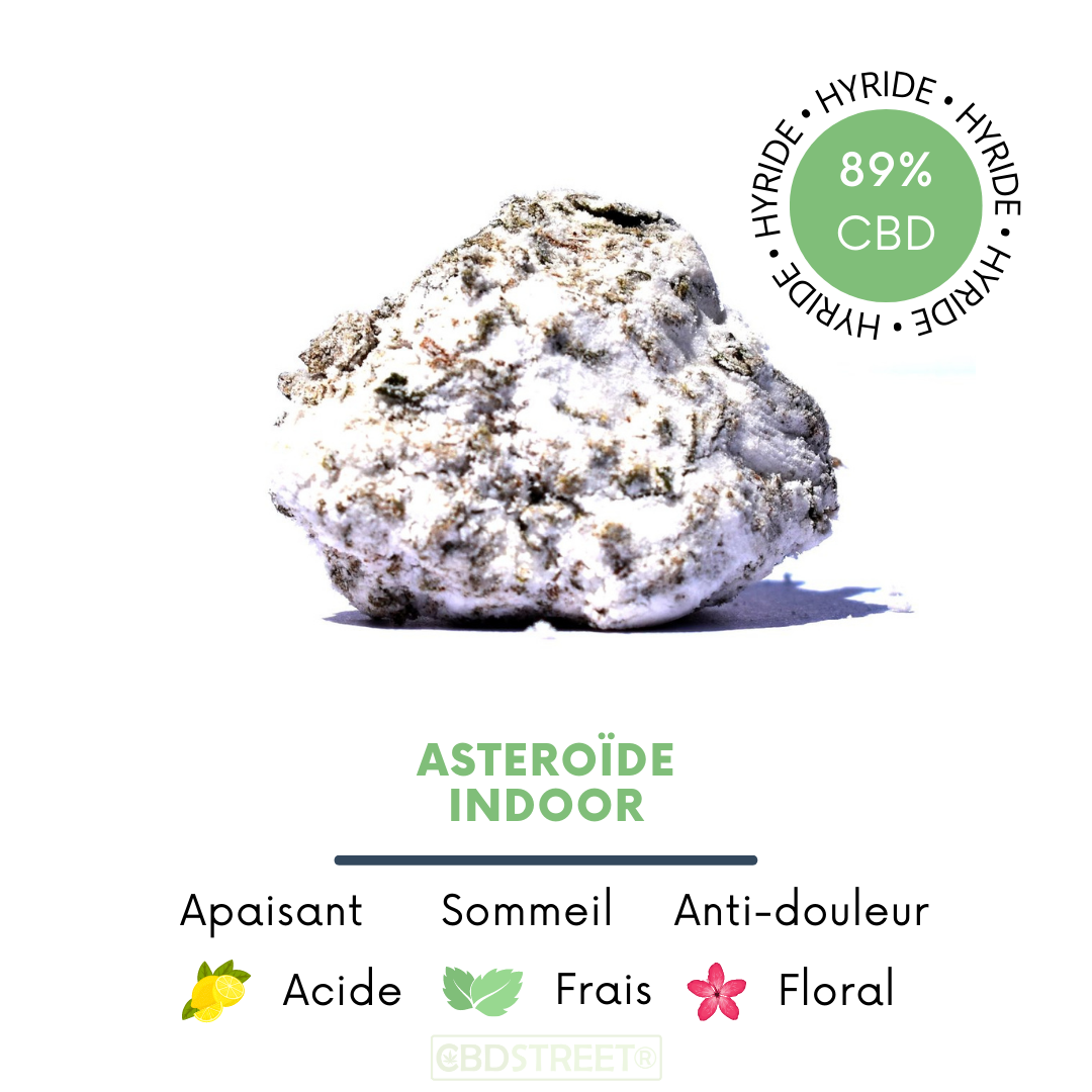 Moon rock CBD Aseroïde
