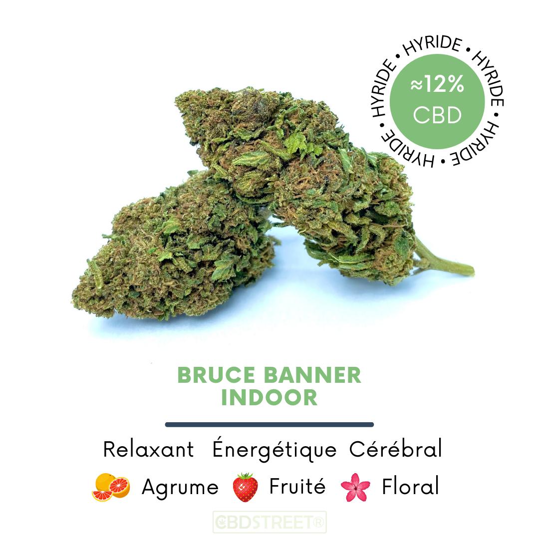 Bruce Banner CBD Indoor 12%