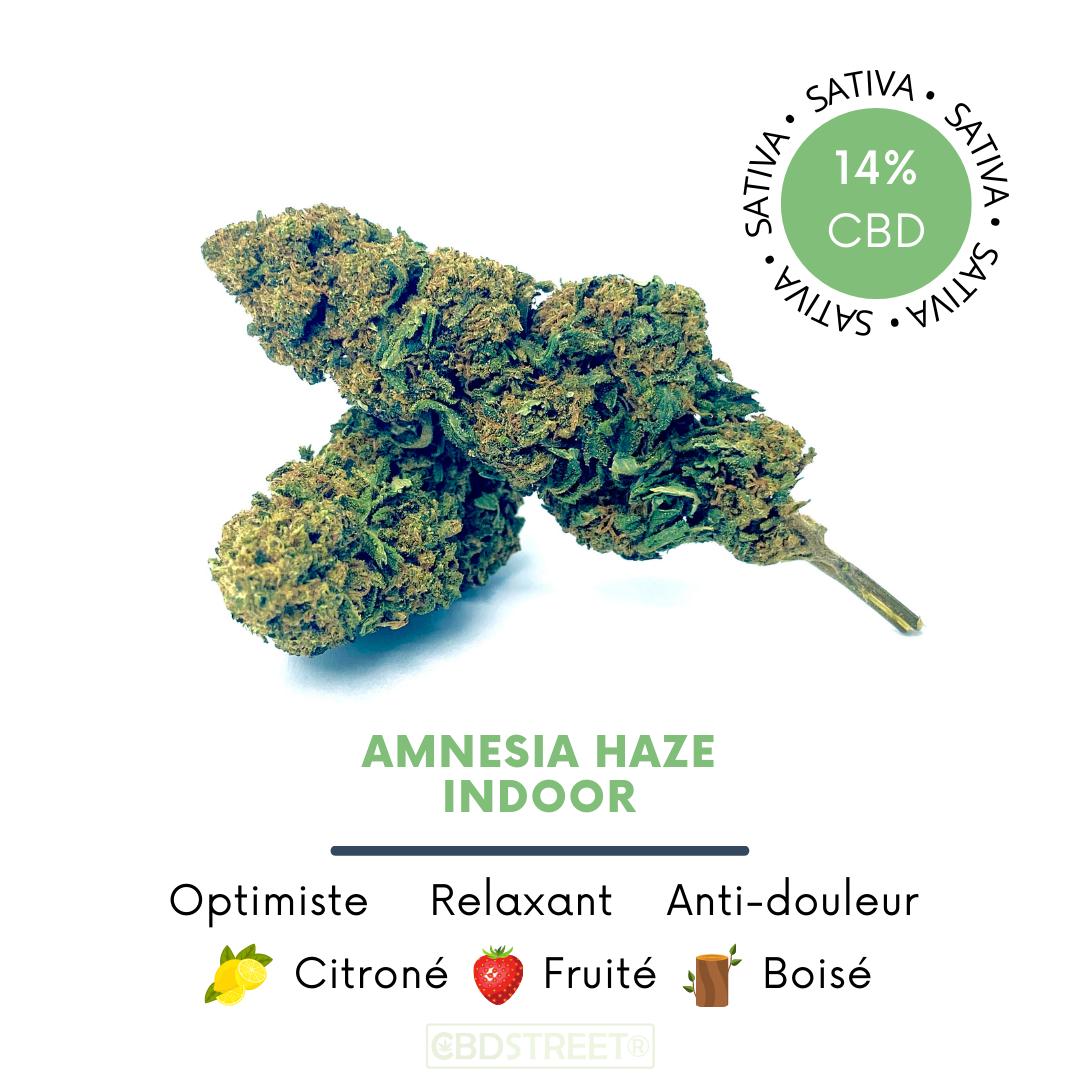 Amnesia Haze CBD indoor 14%