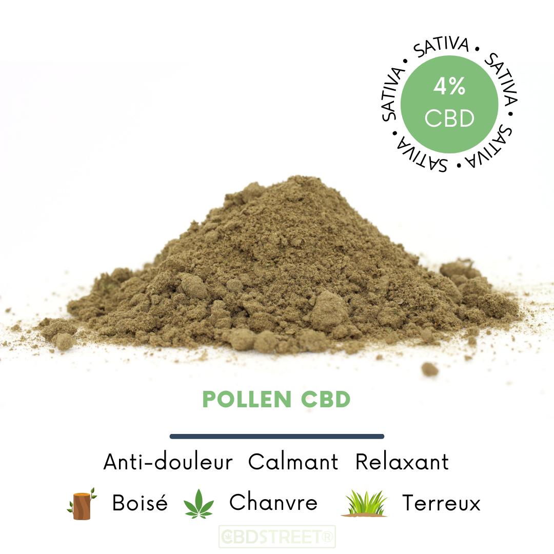 Pollen CBD 4%