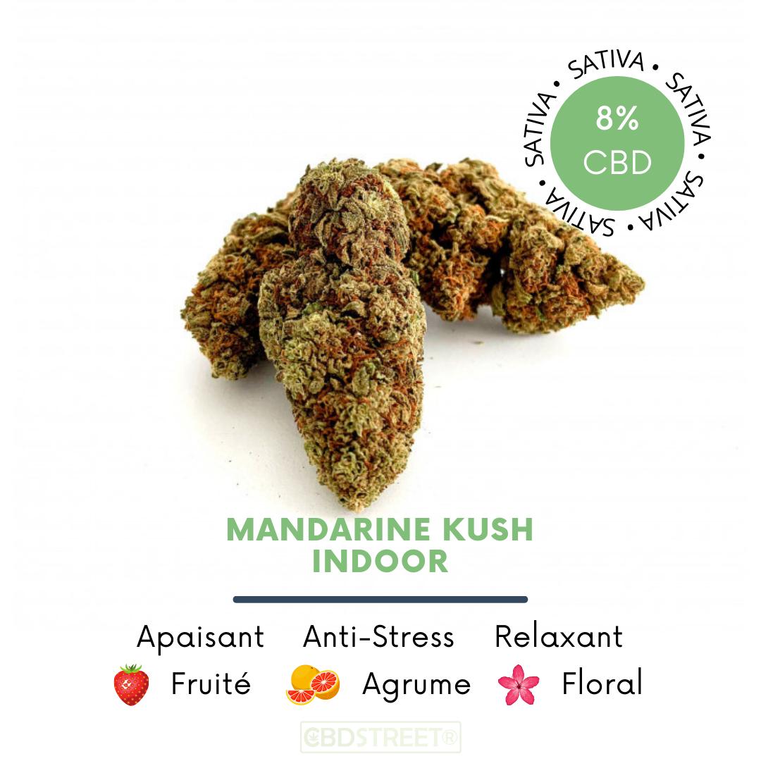 Mandarine Kush 8% indoor