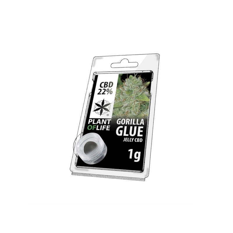 Jelly Gorilla Glue 22% CBD 1g