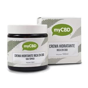 Crème hydratante 100ml myCBD