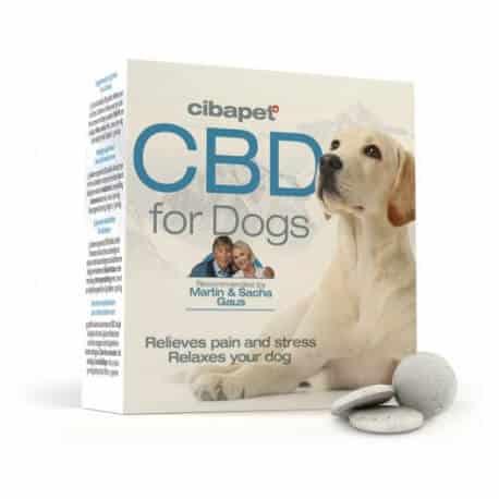 Pastilles de CBD pour chiens Cibapet