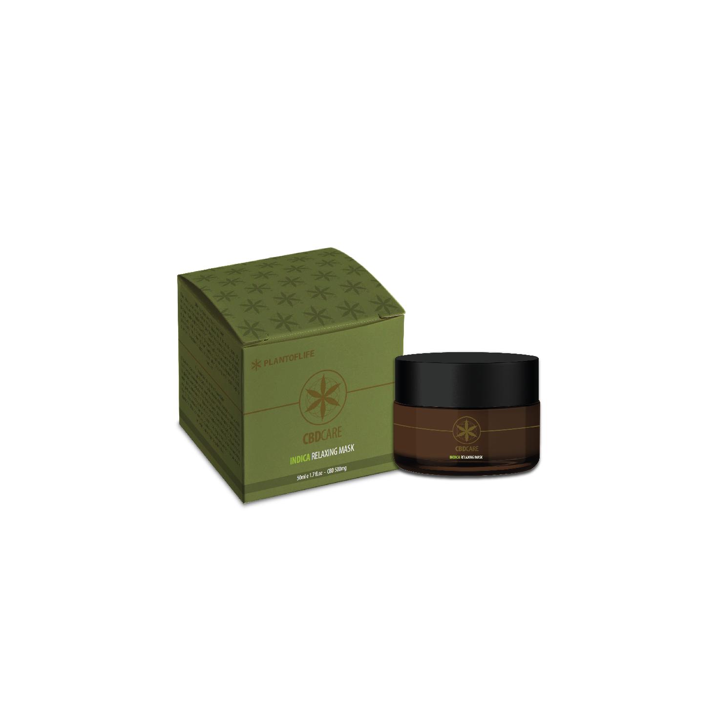 Masque Relaxant 5% CBD 50ml