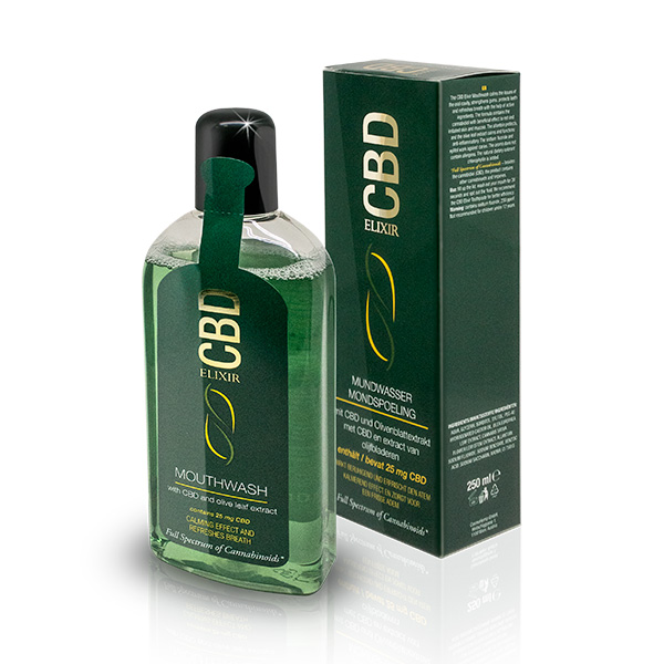 Bain de bouche CBD Elixir