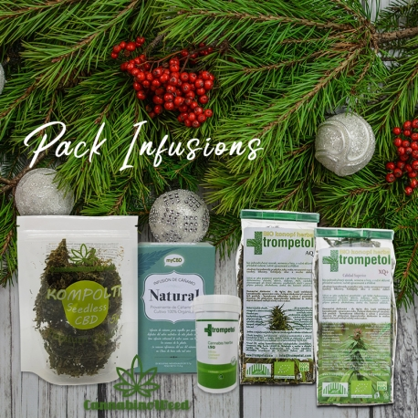 Pack INFUSIONS CBD