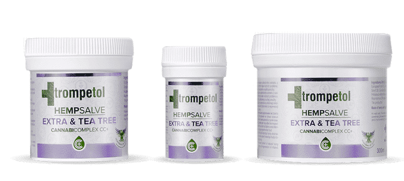 Trompetol HempSalve Extra & Tea Tree