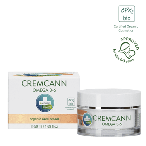 CREMCANN OMEGA 3-6 crème visage bio