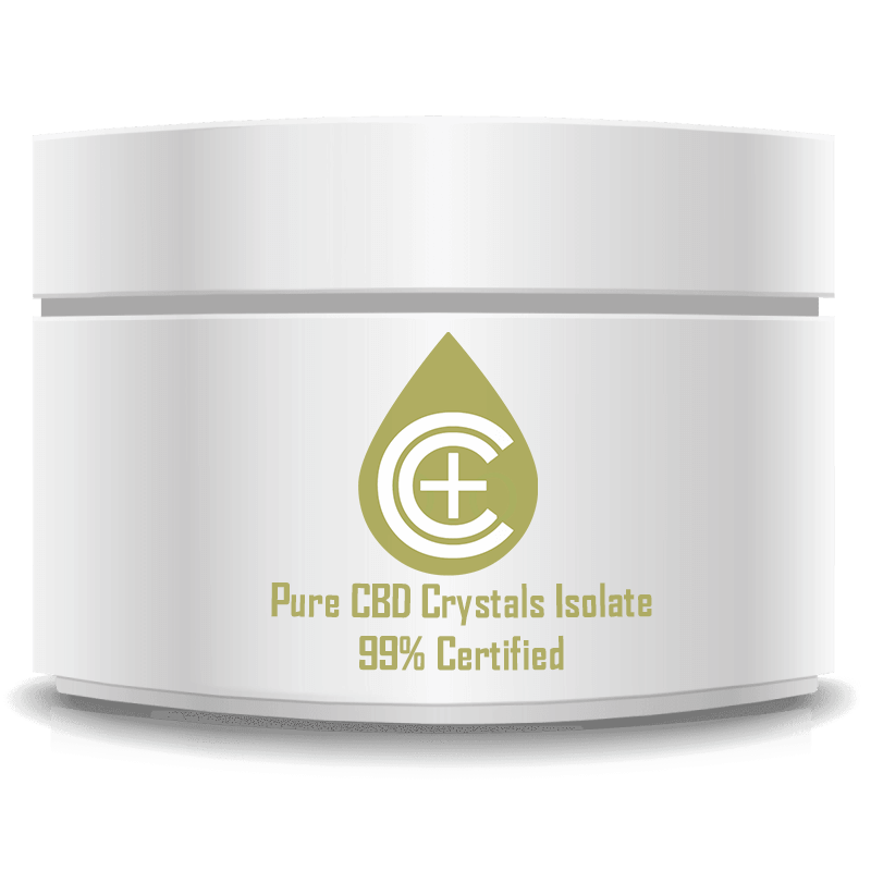 Pure CBD Crystals 99.6%