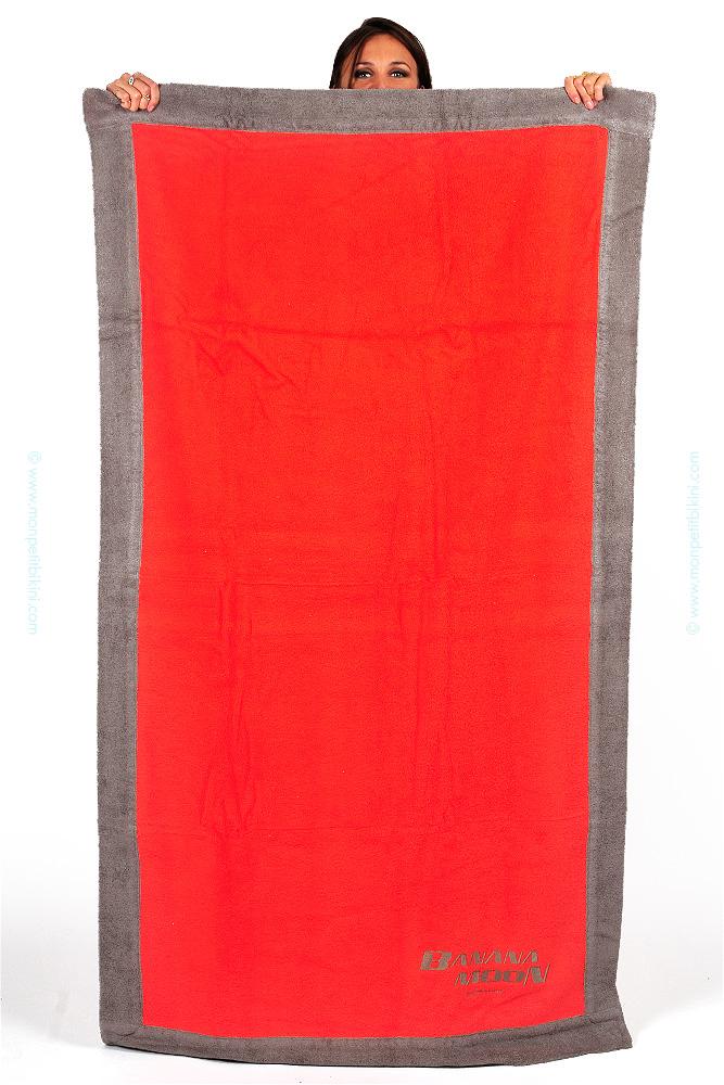 serviette de plage corail banana moon achat vente serviettes et coussins. Black Bedroom Furniture Sets. Home Design Ideas