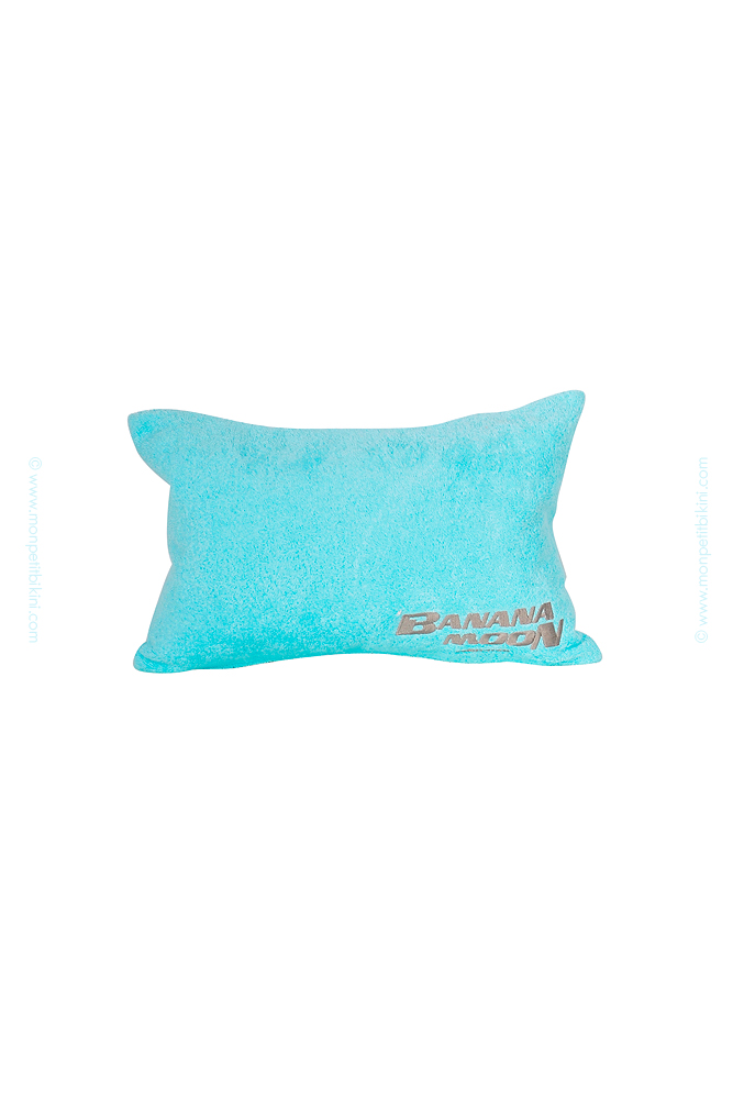 coussin gonflable de plage coussin gonflable turquoise banana moon. Black Bedroom Furniture Sets. Home Design Ideas