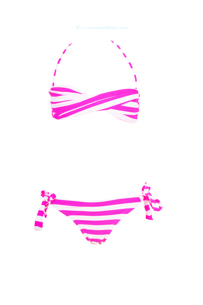Pas Enfant Rose Tendance Cher Maillot Bandeau Barbie Girly 2013 OPX8n0wk