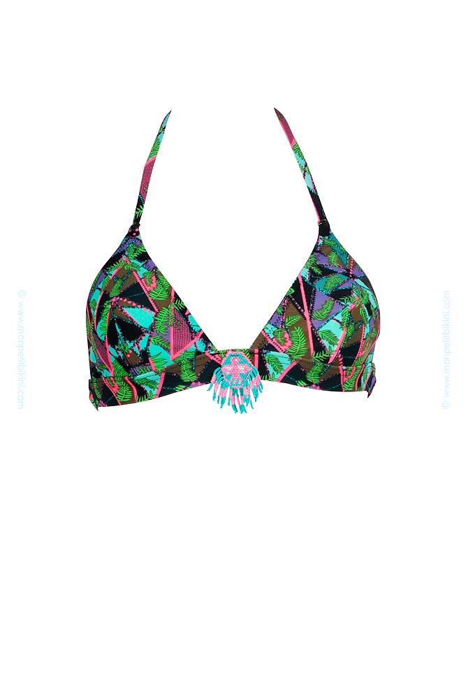 maillot de bain hipanema imprim jungle bikini br silien jungleez. Black Bedroom Furniture Sets. Home Design Ideas