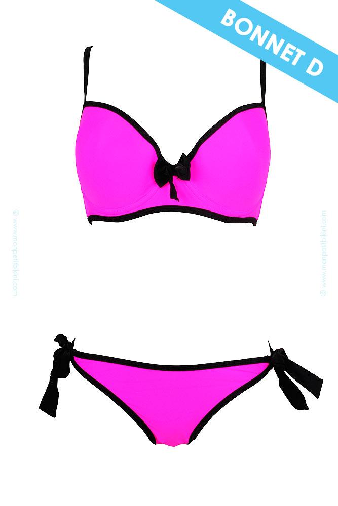 maillot de bain push up rose fushia maillot de bain pas cher. Black Bedroom Furniture Sets. Home Design Ideas