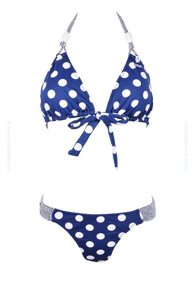 e shop lolita angels triangle maillot de bain triangle bleu femme. Black Bedroom Furniture Sets. Home Design Ideas