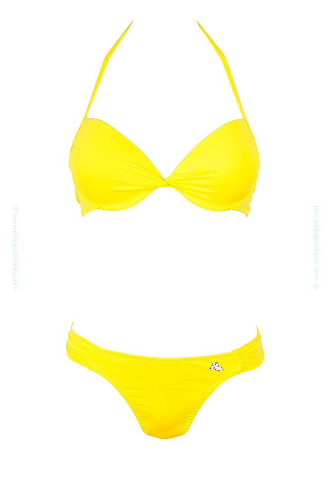 maillot de bain jaune femme maillot tendance lolita angels. Black Bedroom Furniture Sets. Home Design Ideas
