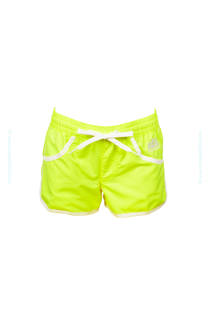new release official no sale tax Maillot de bain fille Sundek - Short de bain enfant arc en ciel