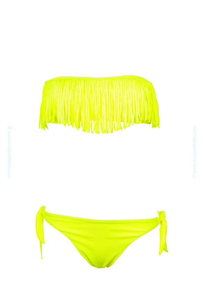 maillot de bain femme jaune fluo maillot pas cher jaune fluo. Black Bedroom Furniture Sets. Home Design Ideas