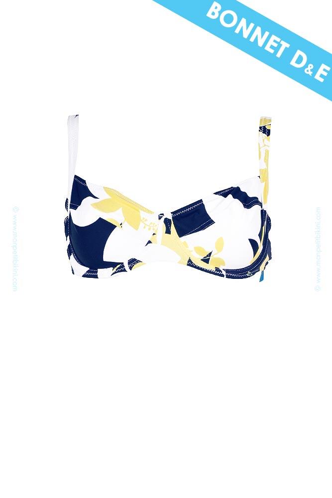 maillot de bain bonnet d kingston maillot de bain bleu. Black Bedroom Furniture Sets. Home Design Ideas