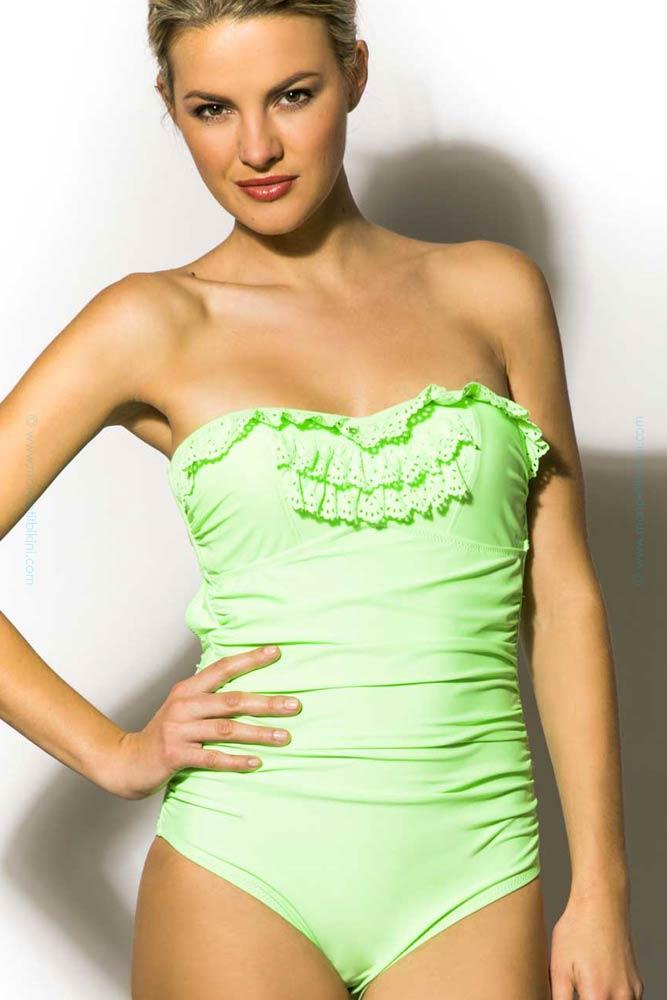 maillot de bain une pi ce vert maillot de bain femme prix minis. Black Bedroom Furniture Sets. Home Design Ideas