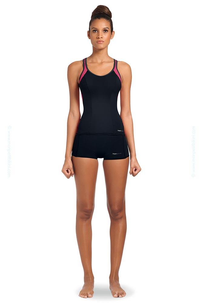 maillot freya grande taille maillot short piscine active swimwear. Black Bedroom Furniture Sets. Home Design Ideas