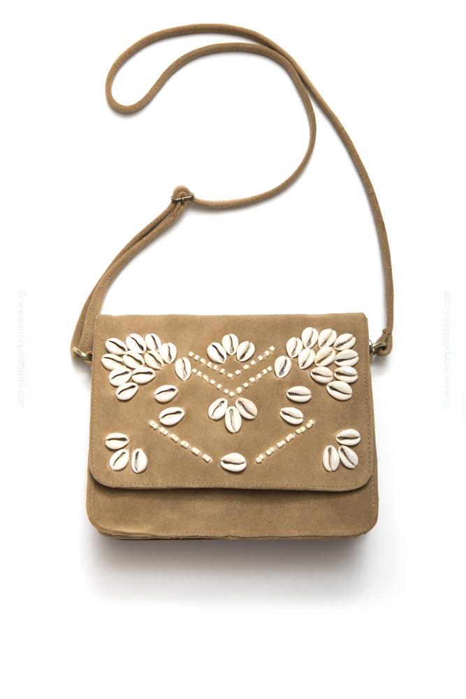 df8a2eee89a45c Amenapih Hipanema sac - Accessoires femme été sac Juicy beige