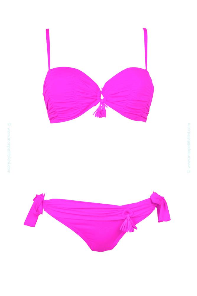 457dd336b7 Bikini push-up femme - Achat/Vente - Maillot de bain balconnet rose