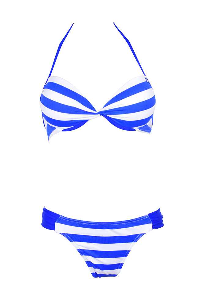 maillot push up femme deux pi ces fun ray bleu lolita angels 2015. Black Bedroom Furniture Sets. Home Design Ideas