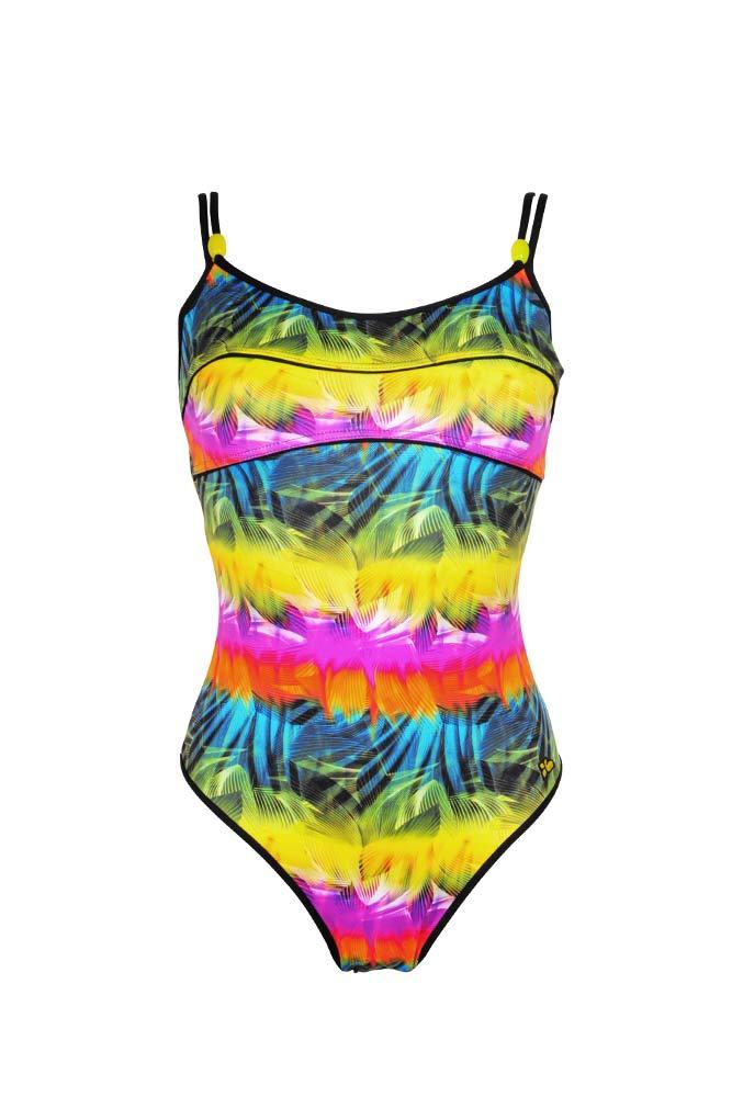 maillot une pi ce multicolore maillot femme sun lolita. Black Bedroom Furniture Sets. Home Design Ideas