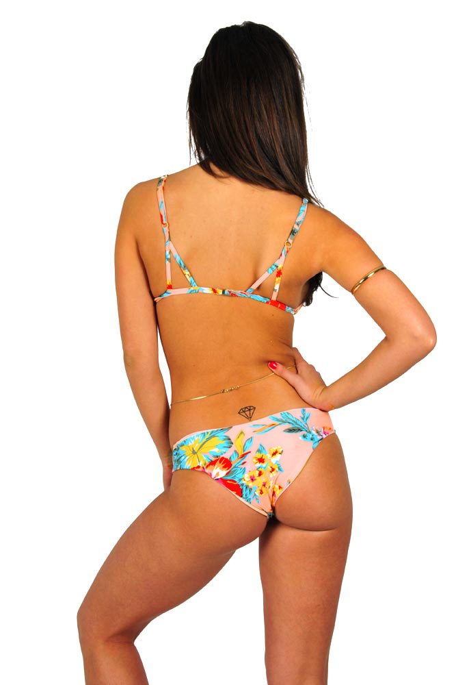 bikini femme rip curl maillot de bain paradise found corail. Black Bedroom Furniture Sets. Home Design Ideas