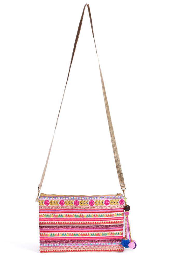 sac pour femme pochette lola gold hipanema pour monpetitbikini. Black Bedroom Furniture Sets. Home Design Ideas