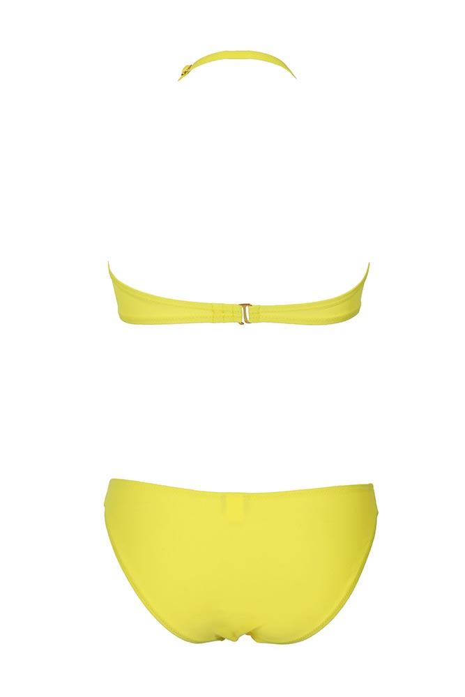maillot 2 pi ces bandeau jaune boutique en ligne monpetitbikini. Black Bedroom Furniture Sets. Home Design Ideas