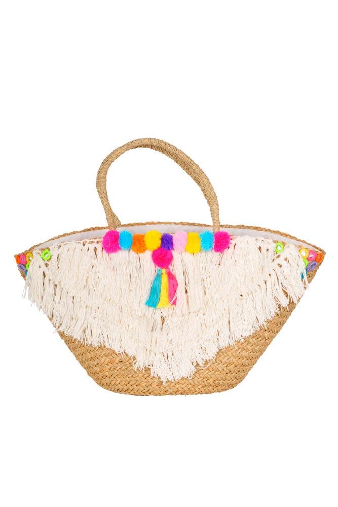 grand sac de plage color accessoire plage pour femme. Black Bedroom Furniture Sets. Home Design Ideas