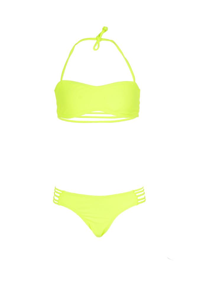 maillot-de-bain-enfant-tendance-pas-cher-jaune-fluo