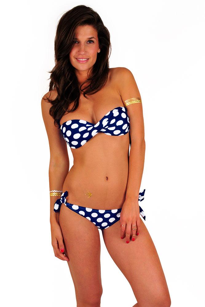 bikini-a-pois-pas-cher