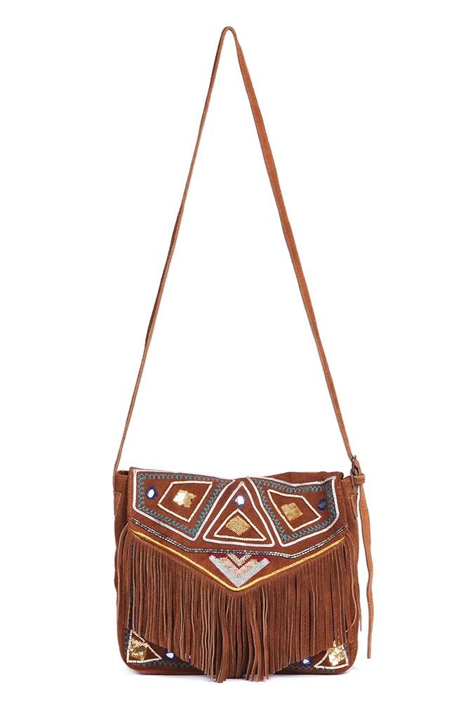 a4cec08c50 Sac en cuir artisanal Hipanema - Amenapih en ligne sur Monpetitbikini