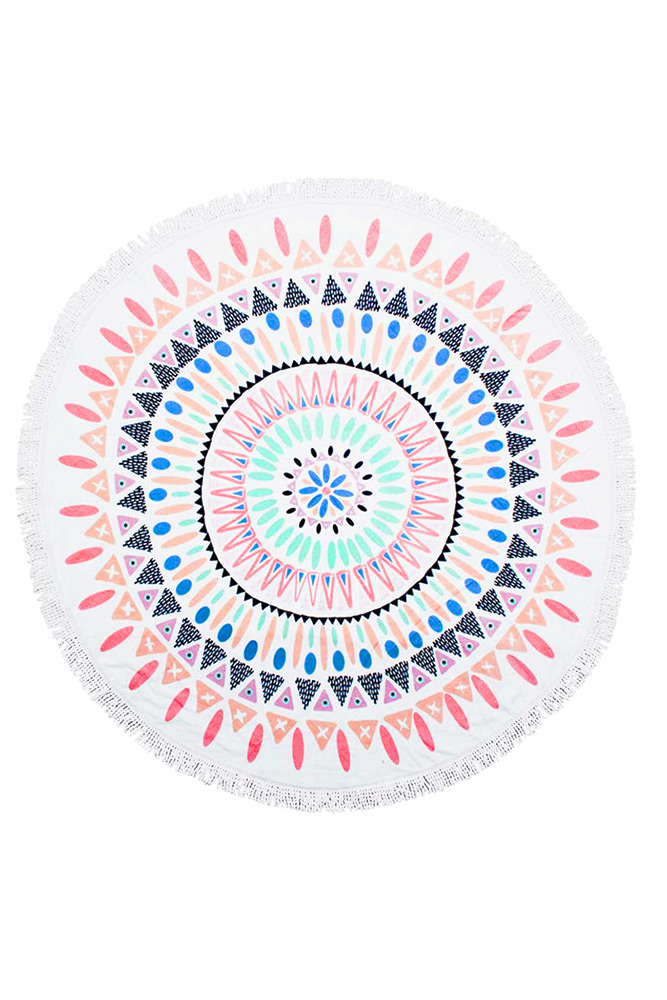 Serviette plage ronde serviette beach people nouvelle collection - Serviette de plage de marque ...