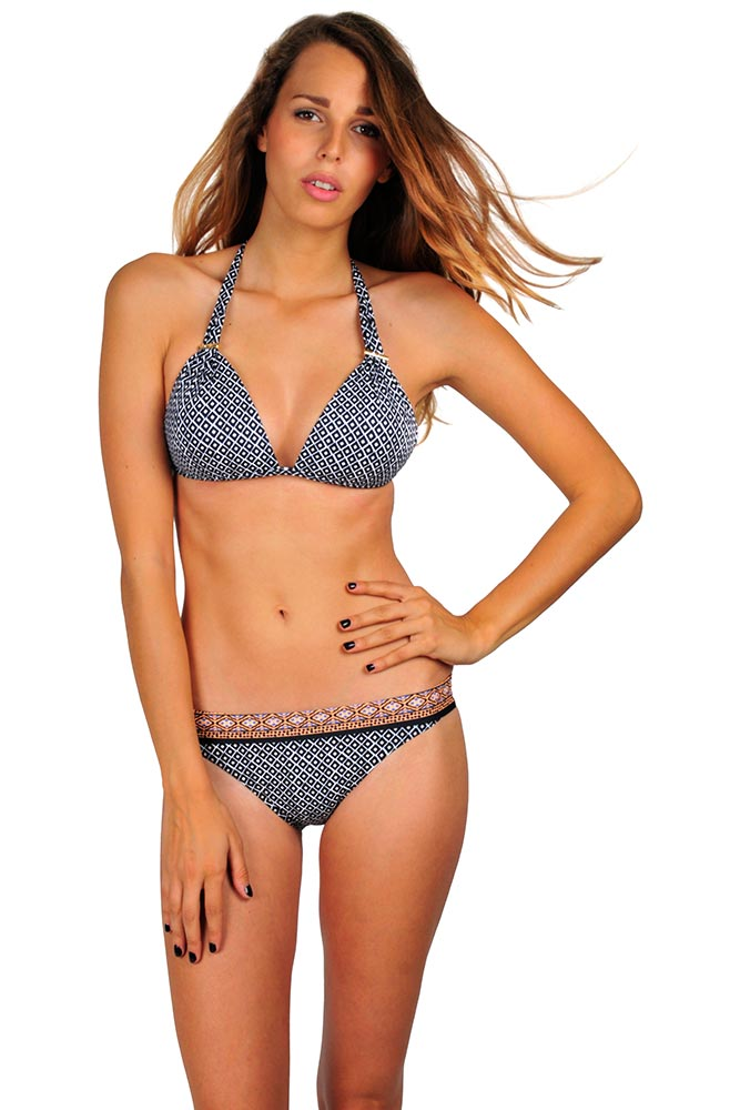 9e20c2a867 Maillot de bain triangle push-up - Bikini de marques pour femme