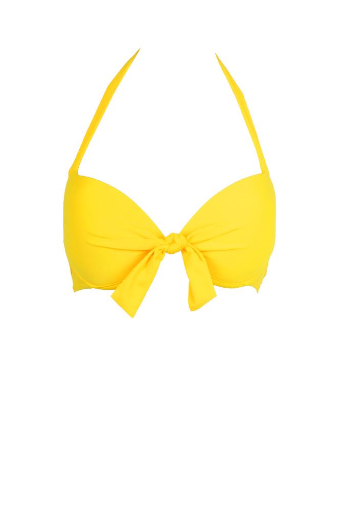 maillot de bain jaune pas cher maillot push up. Black Bedroom Furniture Sets. Home Design Ideas