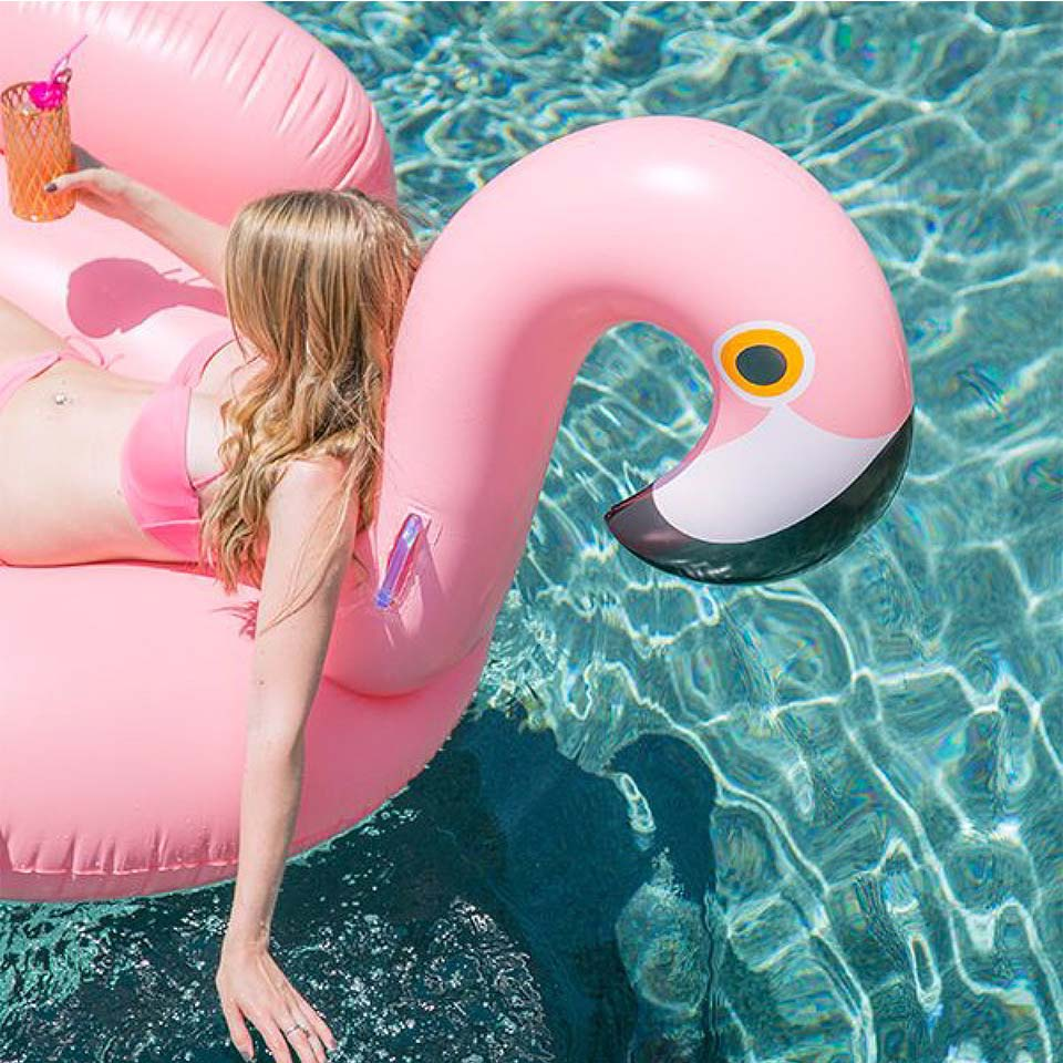bouée-flamant-rose
