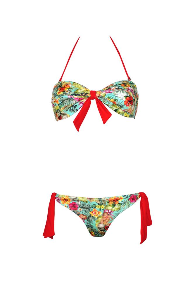 maillot de bain 2 pi ces enfant motif tropical summer 2017. Black Bedroom Furniture Sets. Home Design Ideas